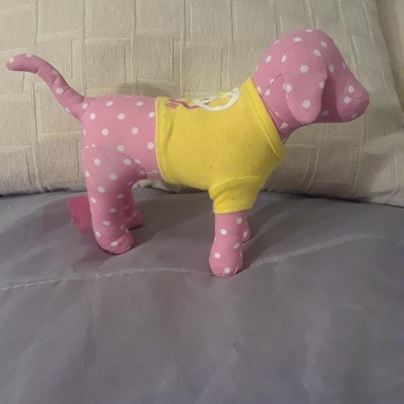 Victoria Secret Pink polka dotted dog